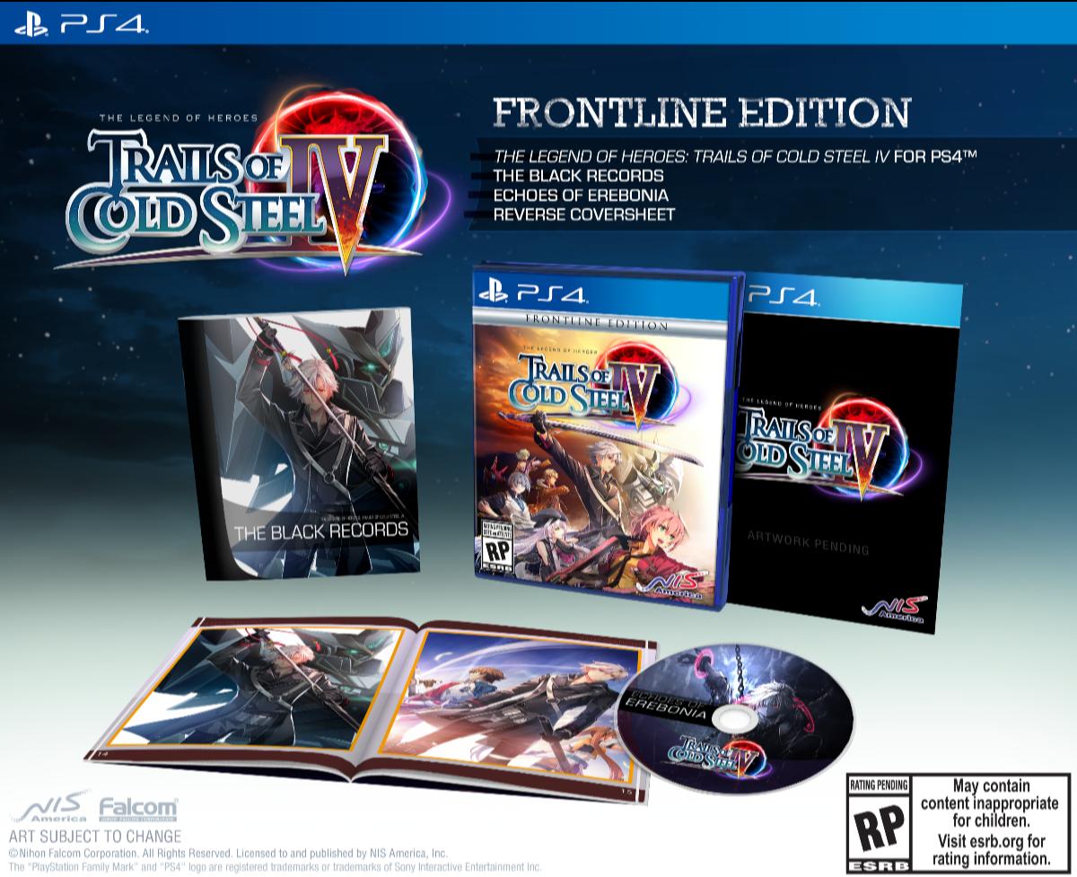 Trails of Cold Steel IV arriverà su PS4 ™ il 27 ottobre 2020 in Nord America ed Europa e il 3 novembre in Oceania