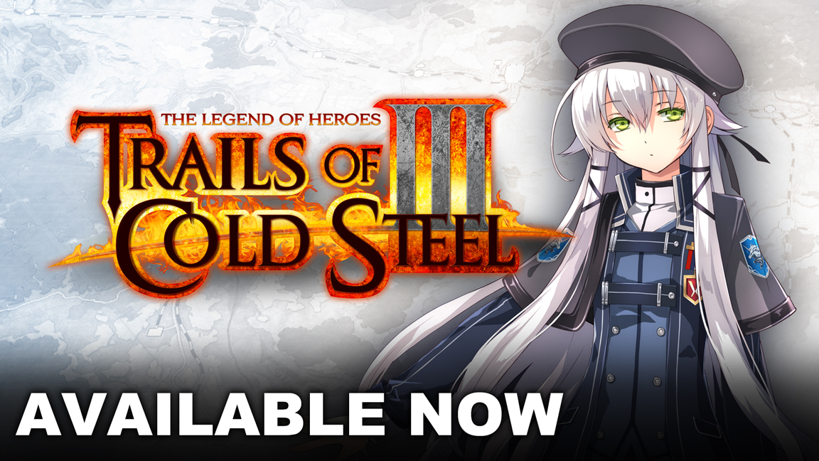 Trails of Cold Steel III è ora disponibile su Nintendo Switch!