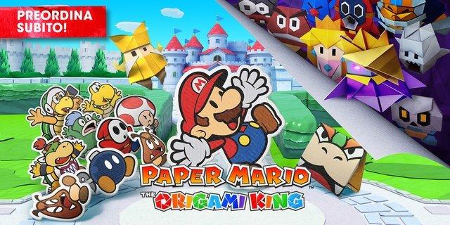 Paper Mario: The Origami King arriva la prossima settimana!