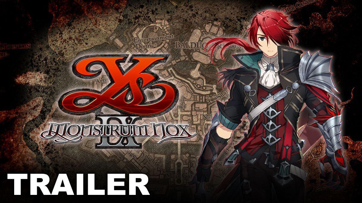 Ys IX: Monstrum Nox  sta rilasciando in Febbraio 2021 su PS4!