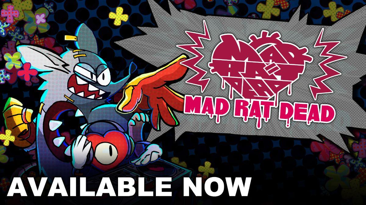 Mad Rat Dead è ora disponibile su PS4 ™ e Nintendo Switch ™ !