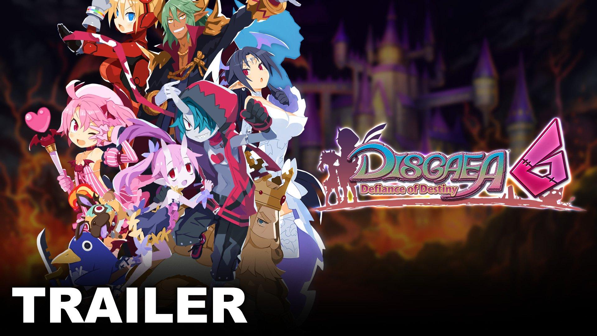 Disgaea 6: Defiance of Destiny Unrelenting Edition è ora disponibile per il preordine!