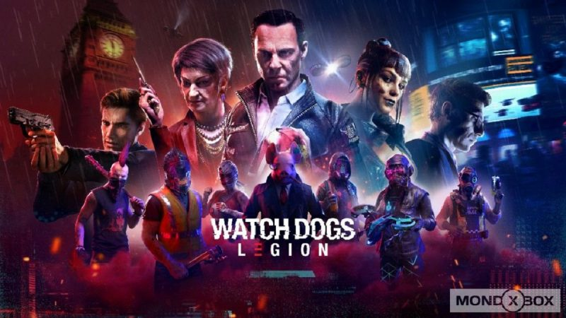 WATCH DOGS®: LEGION È ORA DISPONIBILE