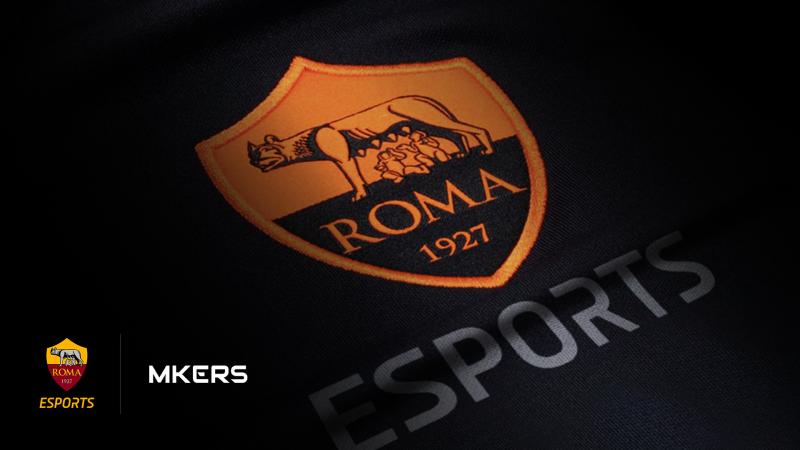 L'AS Roma investe nel settore degli eSport in partnership con Mkers
